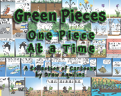 Green Pieces: One Piece At a Time